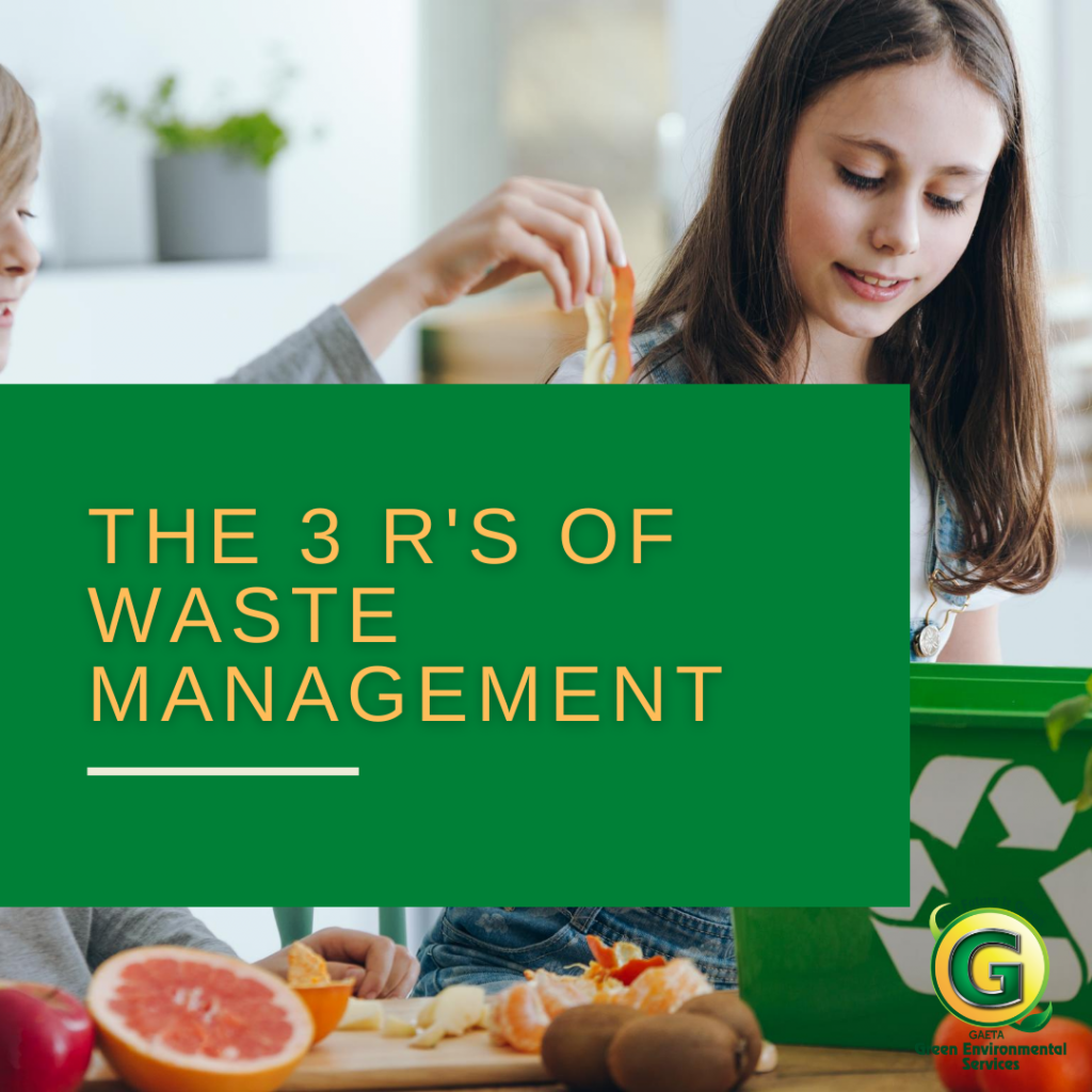 3 R's of Waste Management