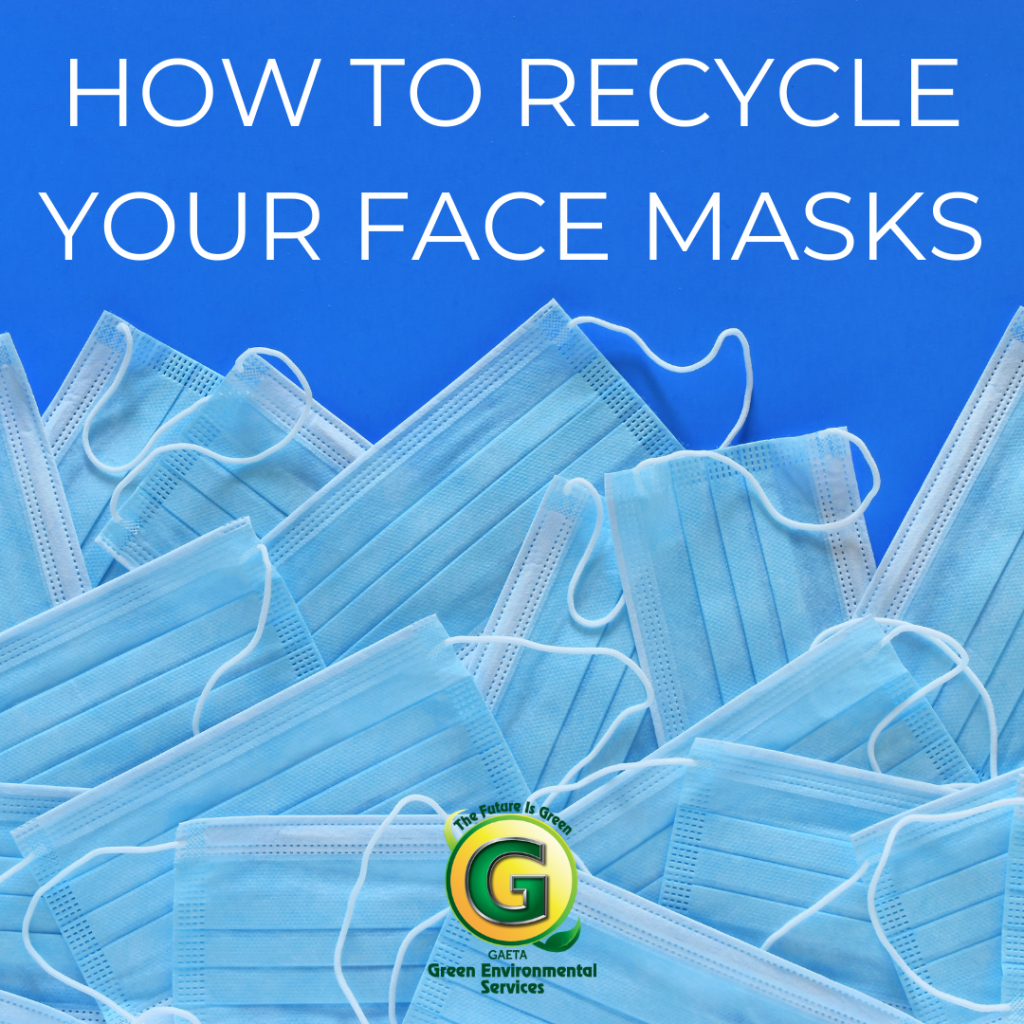 How To Recycle Your Face Masks